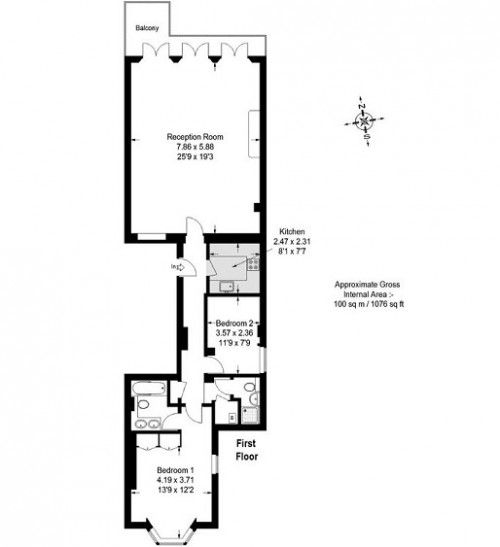 Floorplans For Cornwall Gardens, London