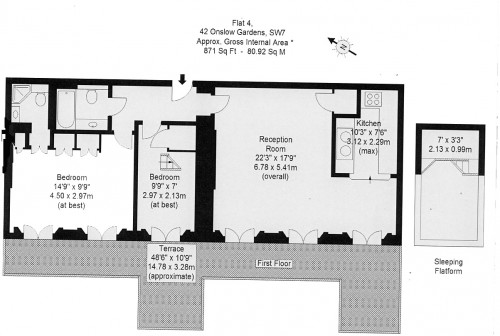 Floorplans For Onslow Gardens, SW7