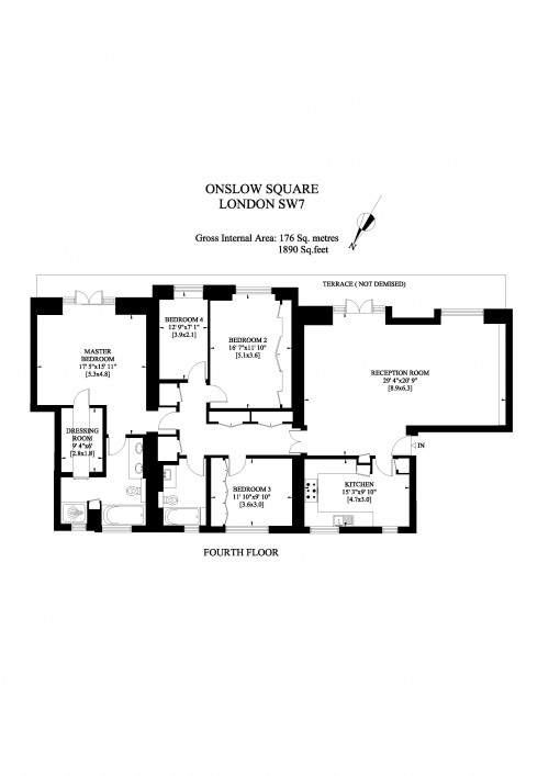 Floorplans For Onslow Square, London