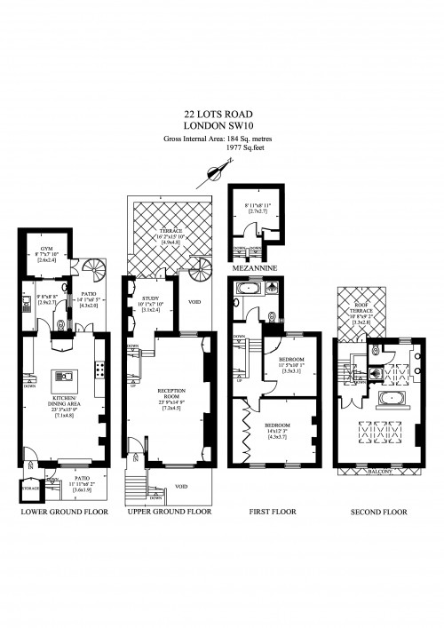 Floorplans For Lots Road, London