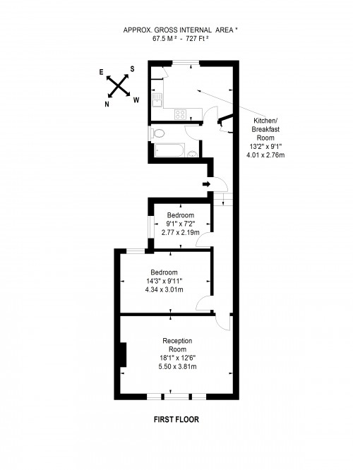 Floorplans For New Kings Road, Fulham