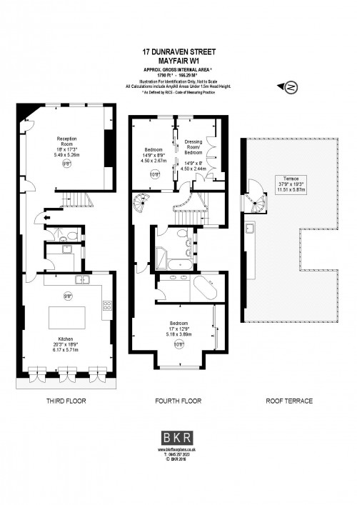 Floorplans For Dunraven Street, London