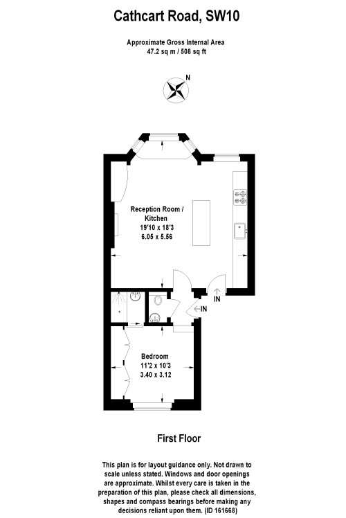 Floorplans For Cathcart Road, Chelsea