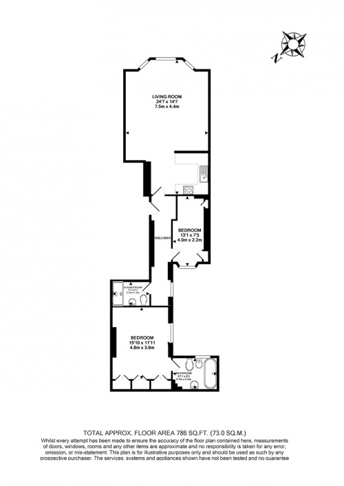 Floorplans For Elvaston Place, South Kensington